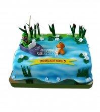 №1532 Торт рыбаку
