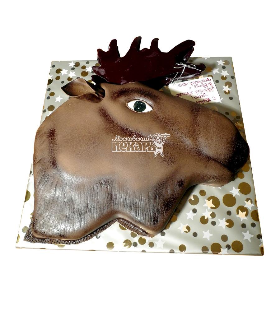 №1534 3D Торт охотнику