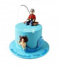 №1538 Торт рыбаку
