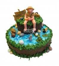 №1541 Торт рыбаку