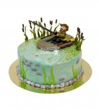 №1544 Торт рыбаку