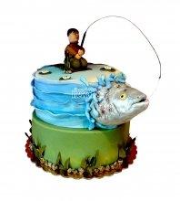 №1547 Торт рыбаку