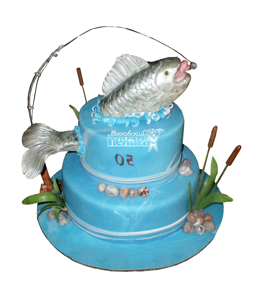 №1550 Торт рыбаку