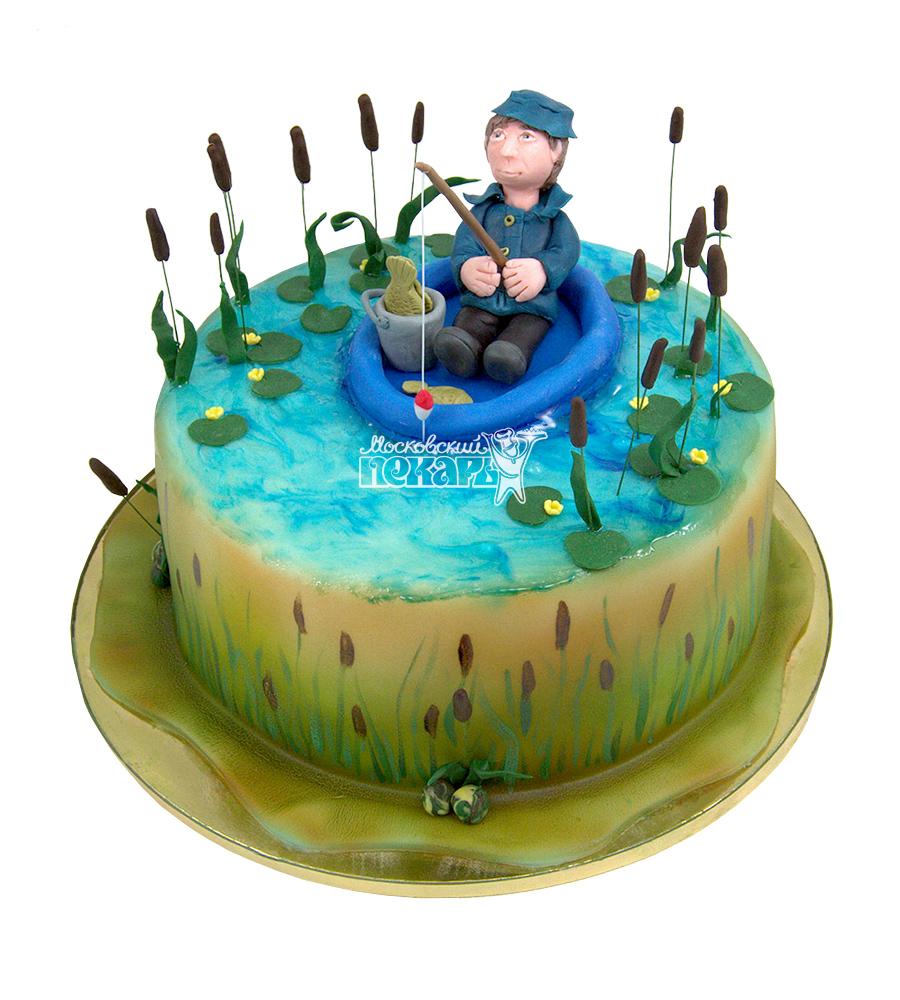 №1551 Торт рыбаку