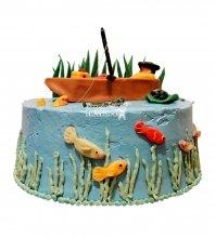 №1552 Торт рыбаку