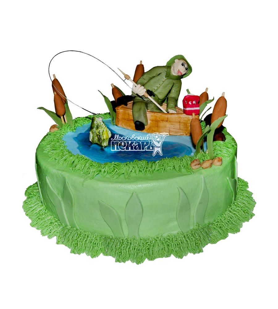 №1555 Торт рыбаку