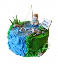 №1556 Торт рыбаку