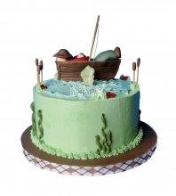 №1557 Торт рыбаку