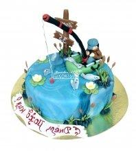 №1561 Торт рыбаку