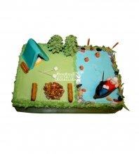 №1562 Торт рыбаку