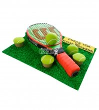 №1574 3D Торт теннис