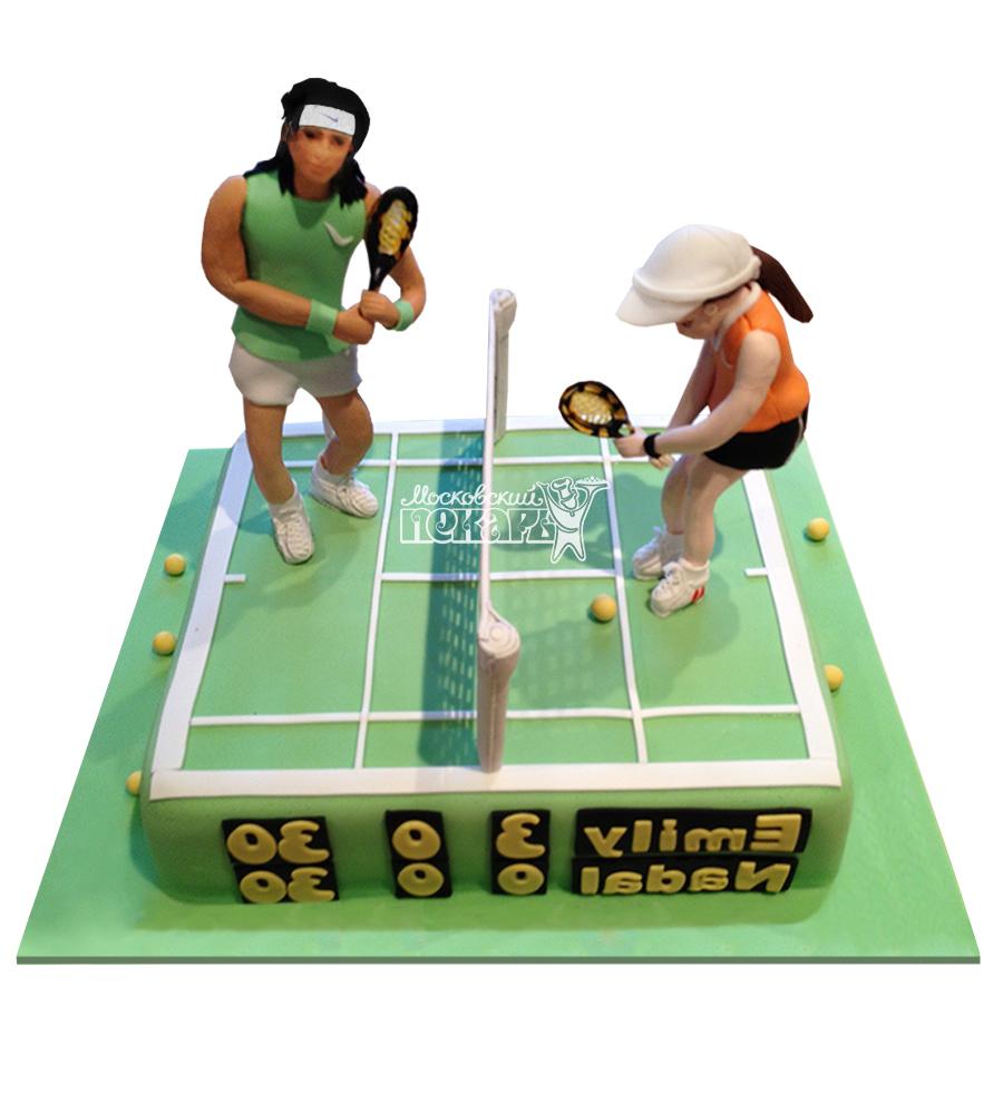 №1577 Торт теннис