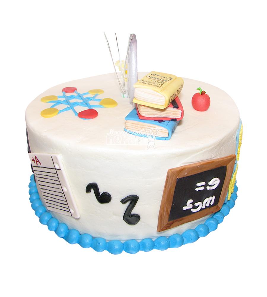 №1581 Торт учителю