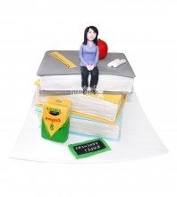 №1582 Торт учителю