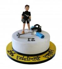 №1595 Торт фитнес