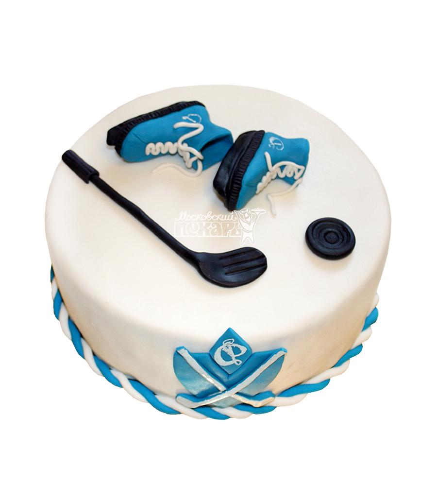 №1602 Торт хоккей