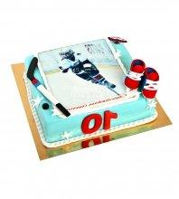 №1604 Торт хоккей