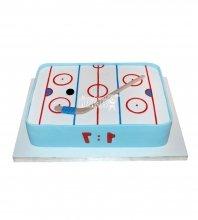 №1605 Торт хоккей