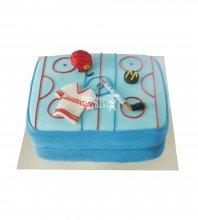 №1606 Торт хоккей