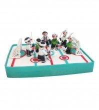 №1607 Торт хоккей