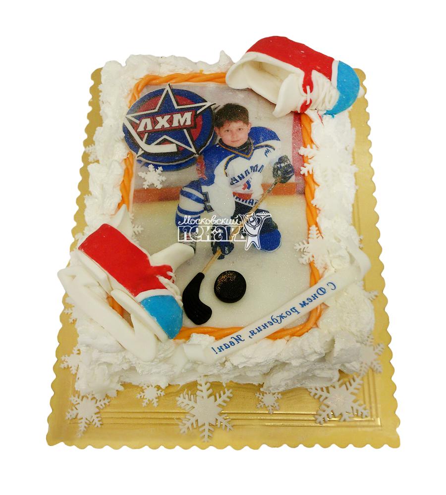 №1611 Торт хоккей
