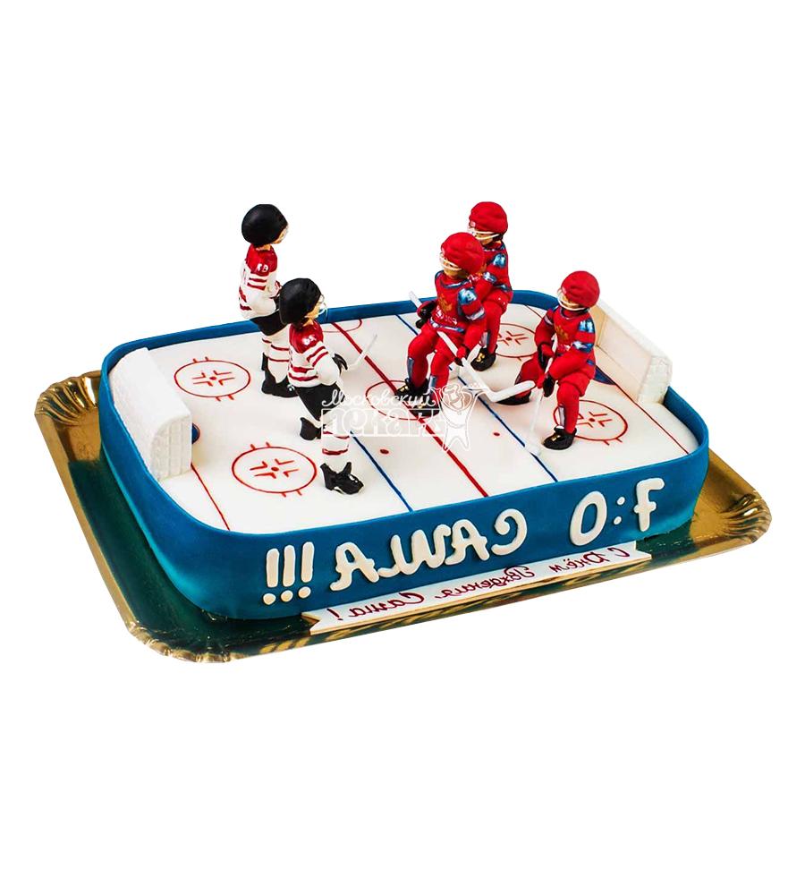 №1612 Торт хоккей