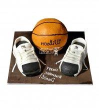 №1618 3D Торт баскетбол