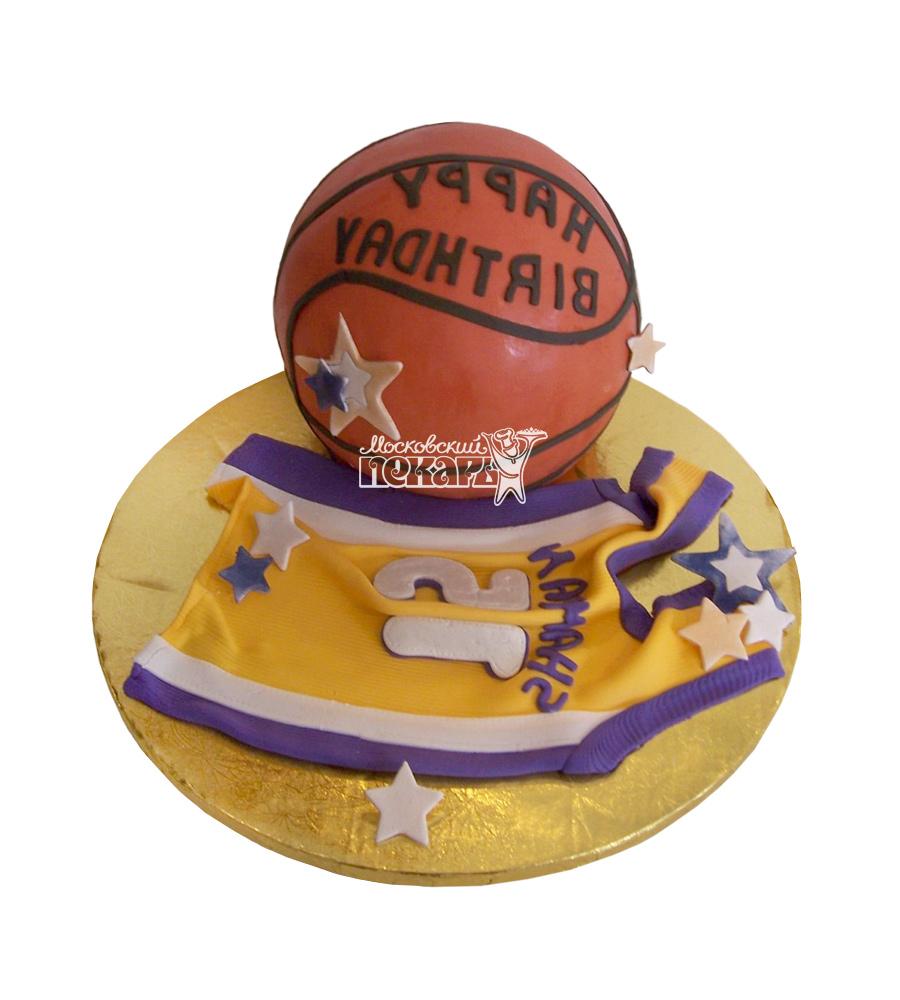 №1619 3D Торт баскетбол