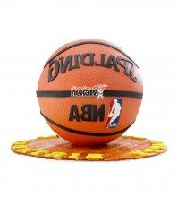 №1624 3D Торт баскетбольный мяч