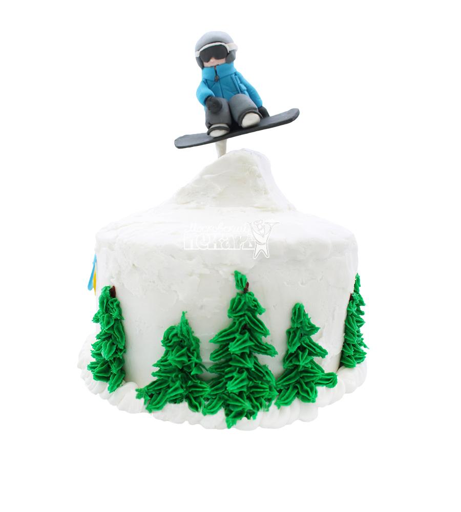 №1638 Торт сноубордист