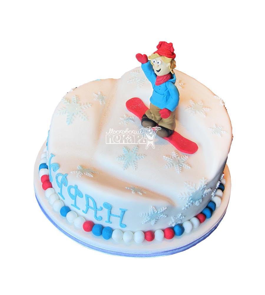 №1639 Торт сноубордист