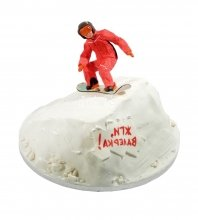 №1640 Торт сноубордист