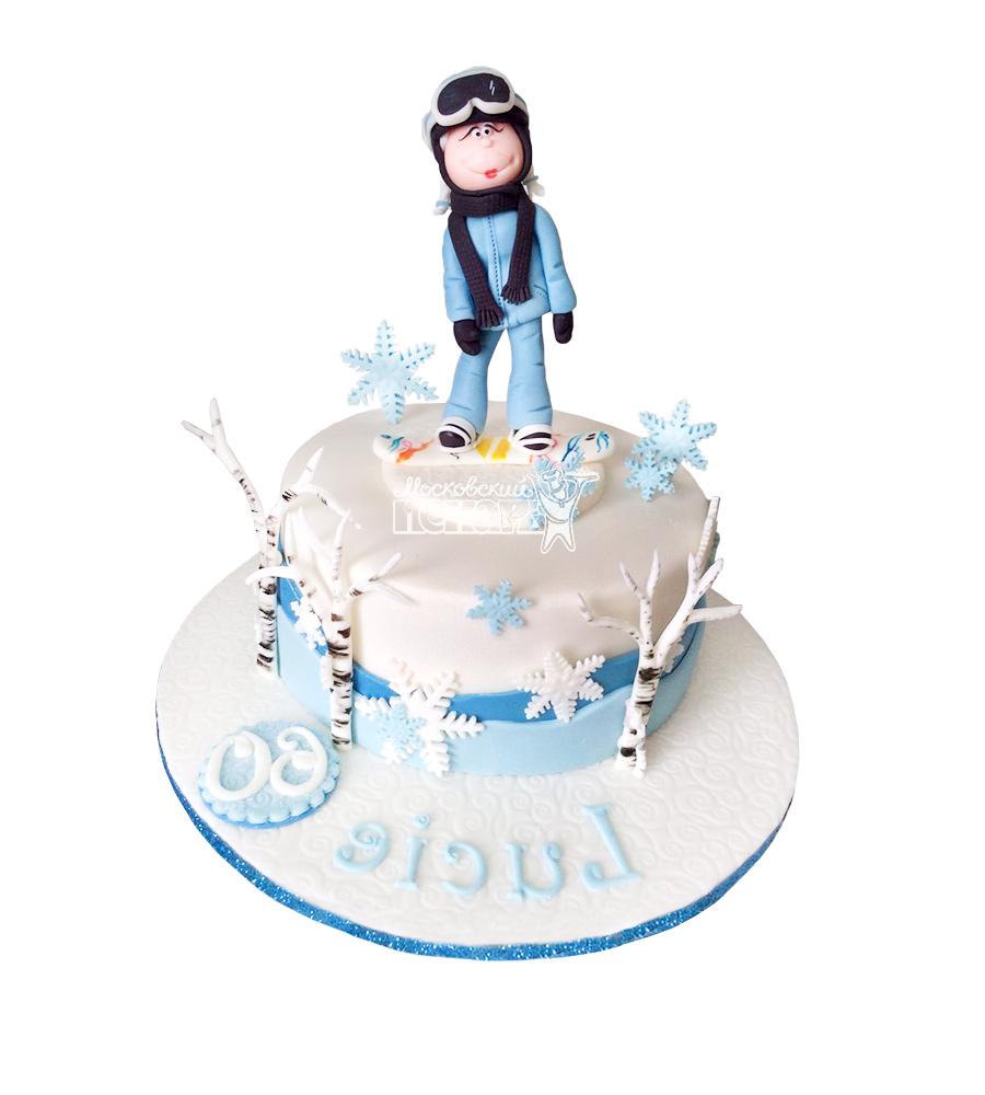 №1641 Торт сноубордист