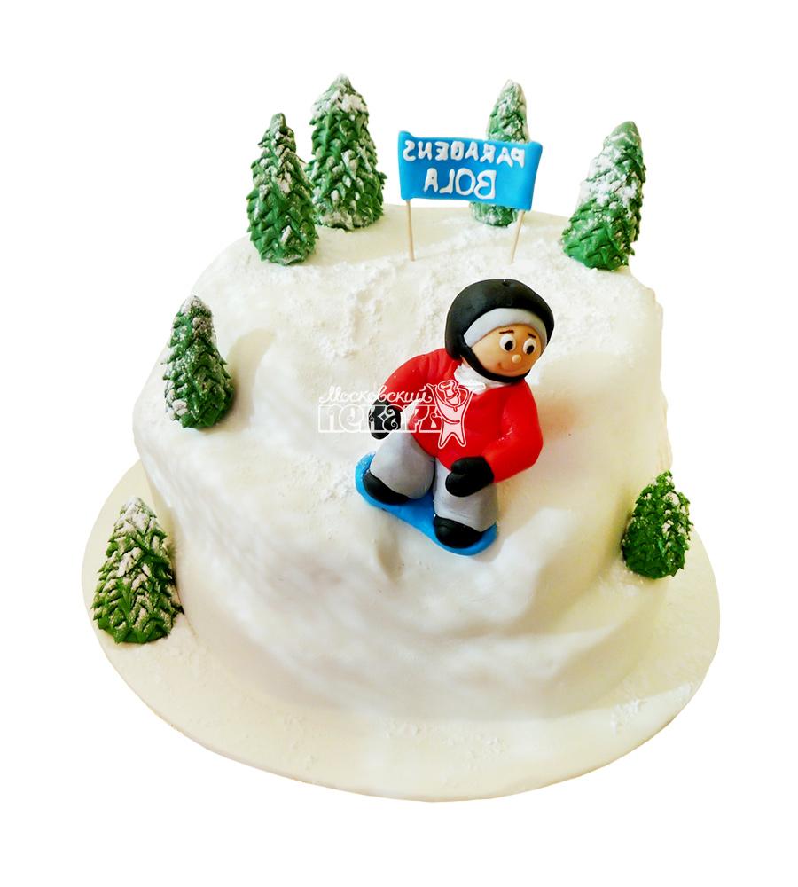 №1643 Торт сноубордист