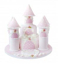 №1689 3D Торт замок