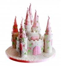 №1690 3D Торт замок