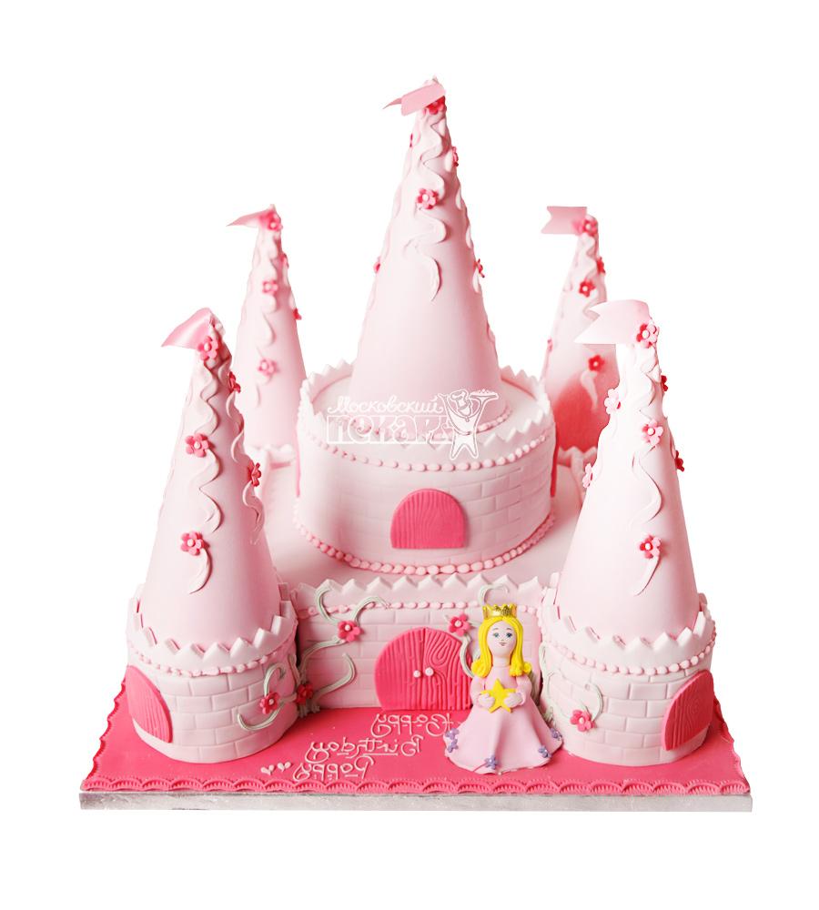 №1691 3D Торт замок