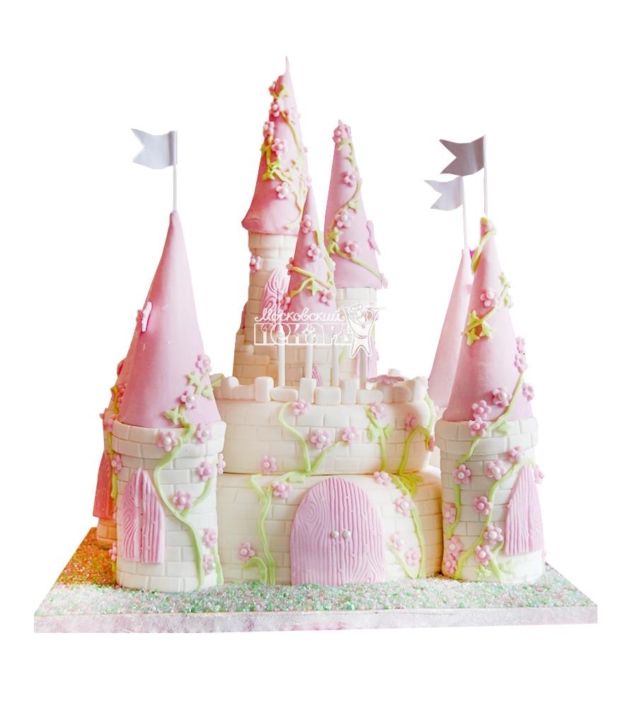 №1692 3D Торт замок