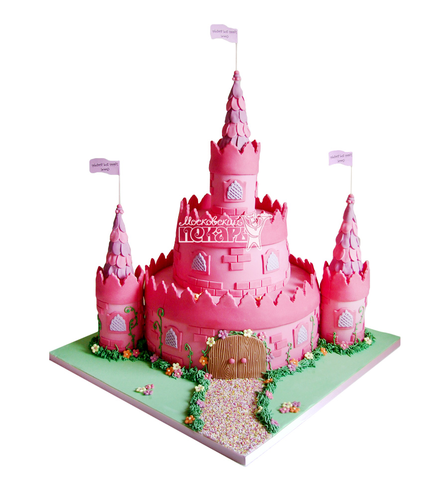 №1693 3D Торт замок