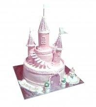 №1694 3D Торт замок