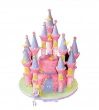 №1697 3D Торт замок