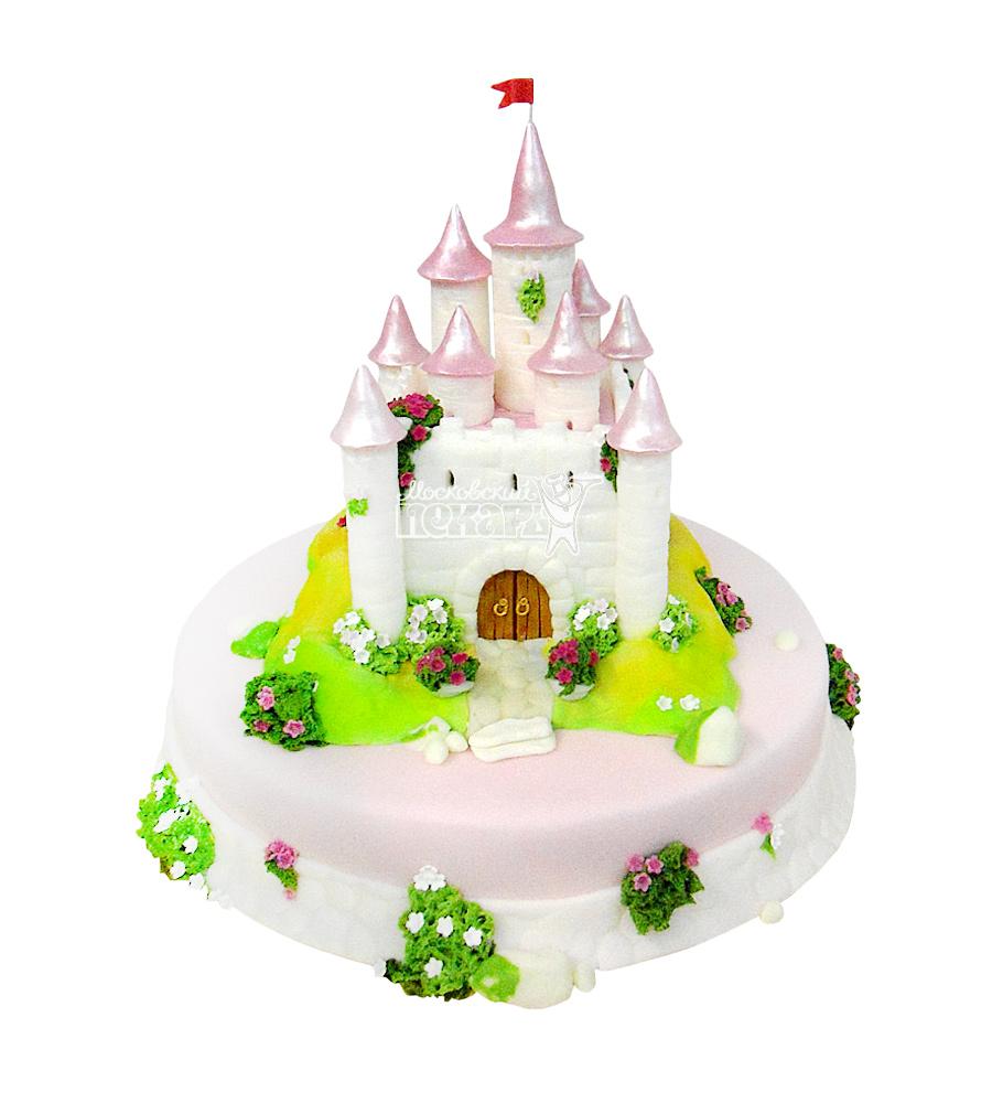 №1698 3D Торт замок