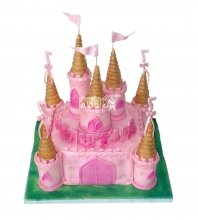№1701 3D Торт замок