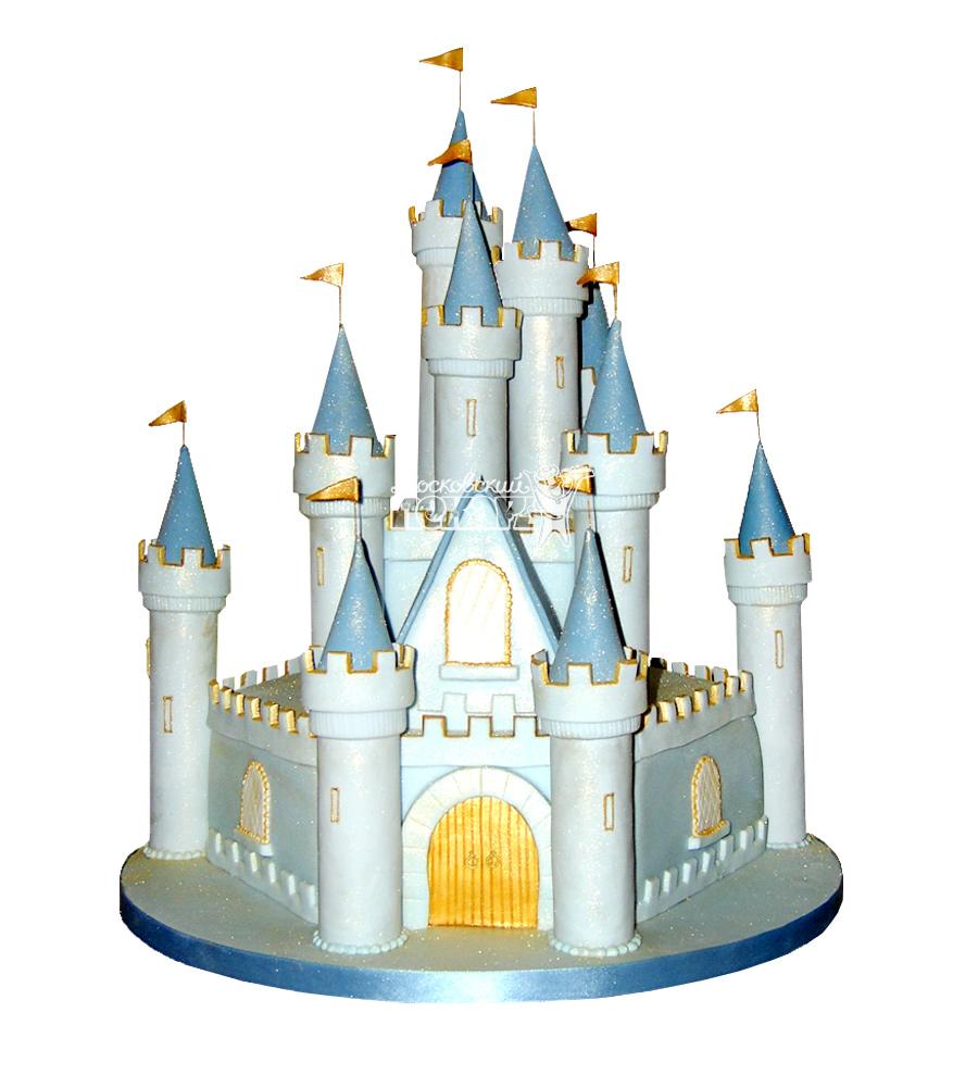 №1702 3D Торт замок