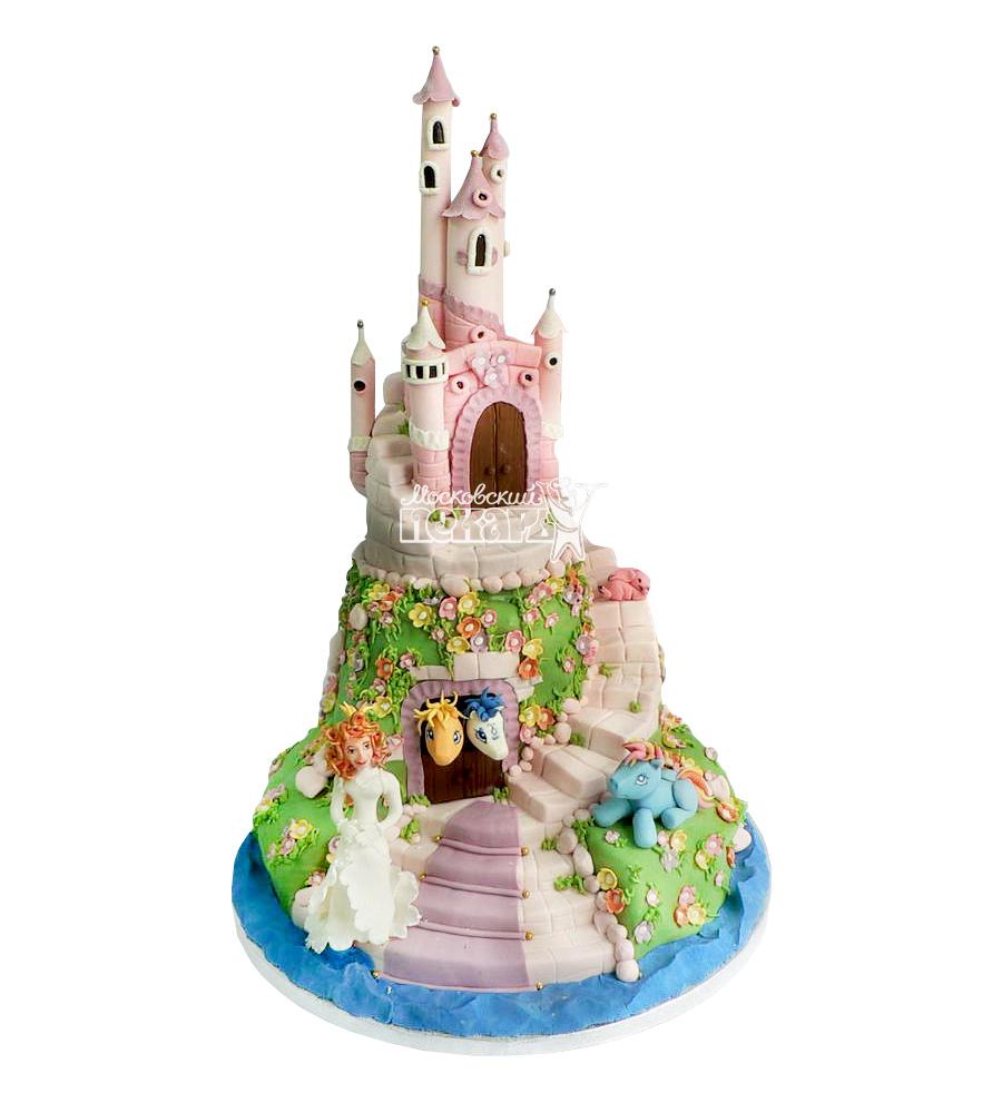 №1703 3D Торт замок