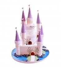 №1706 3D Торт замок