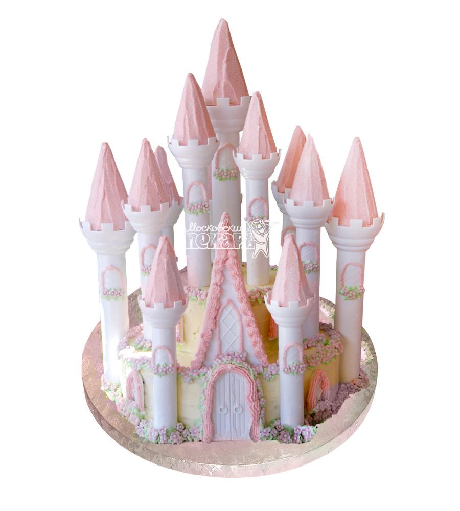 №1708 3D Торт замок