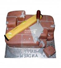 №1732 Торт строителю