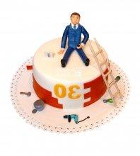 №1737 Торт строителю