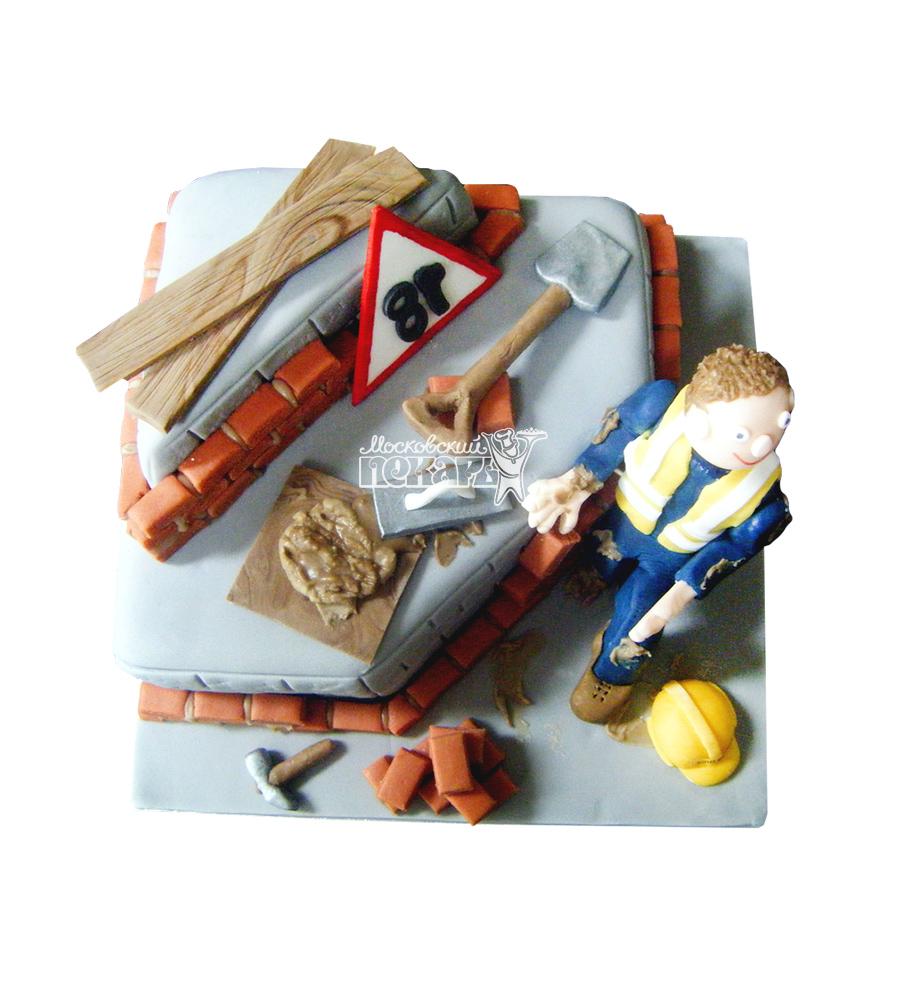 №1739 Торт строителю